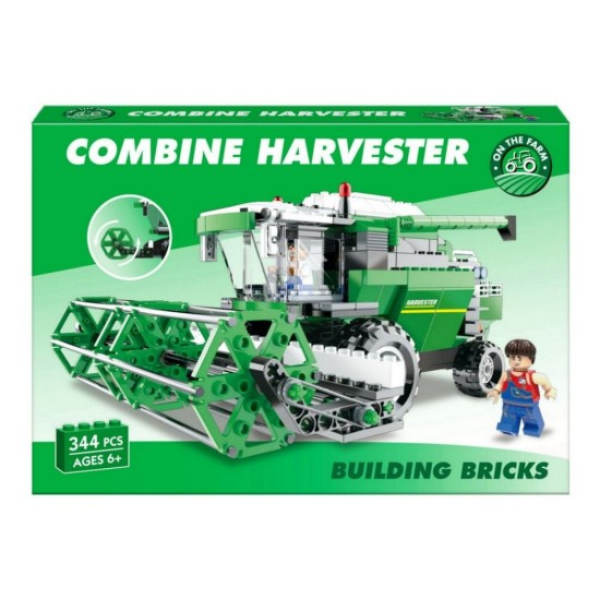362 Piece Combine Harvester Brick Set