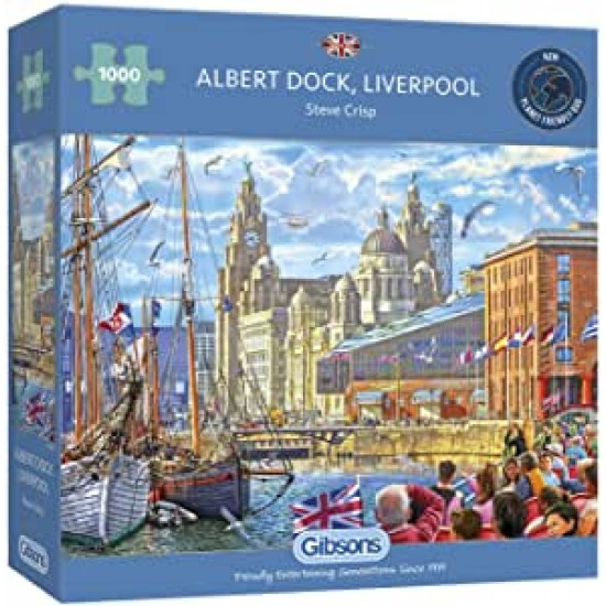 Albert Dock Liverpool 1000pc
