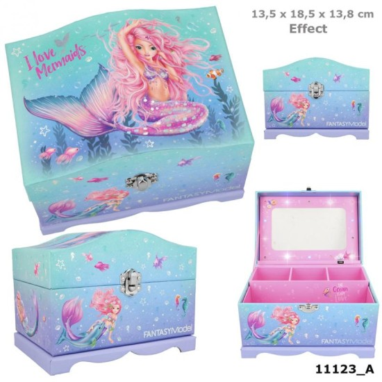 Fantasy Model Jewellery Box Wi th Light MERMAID