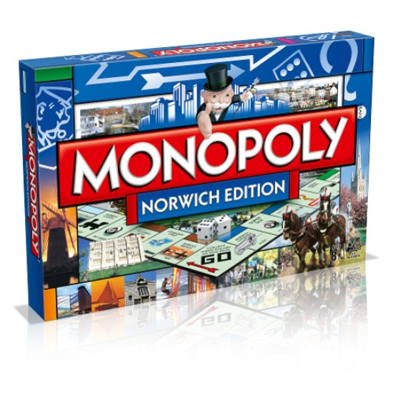 Norwich Monopoly Exclusive !