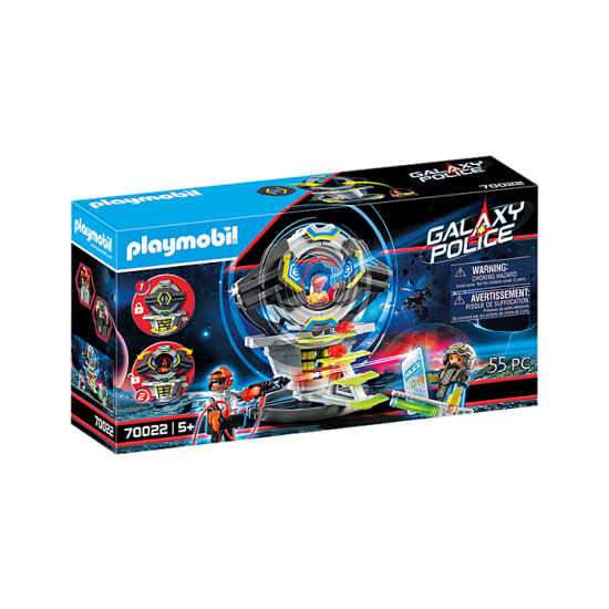 Playmobil 70022 Galaxy Police Safe with Code