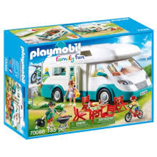 Playmobil 70088 Family Fun Family Camper