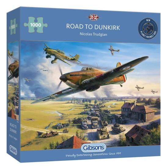 Road to Dunkirk 1000Pc