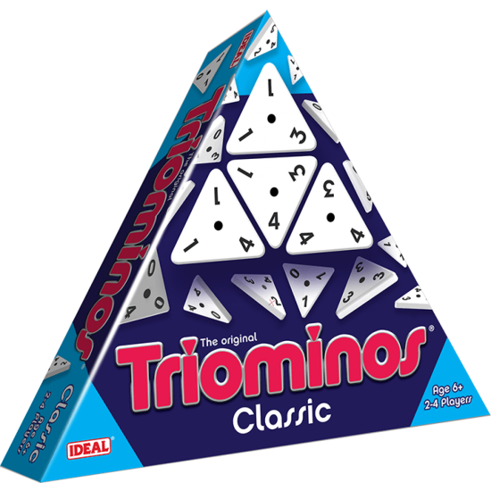 Triominos Classic De Luxe (Triangle Packaging)